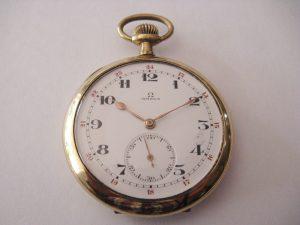Uhren-Steindl_OMEGA_Taschenuhr_vergoldet_um_1910_Elgin_Case_USA_Bild_1