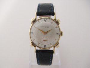 Uhren-Steindl-Longines-Vintage-Gold-14kt-USA-CAN-ca-1950-Manufakturwerk-Bild-1