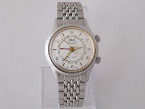 Uhren-Steindl-Oris-Wrist-Alarm-Wecker-Vintage-Handaufzug-Edelstahlarmband-Beschreibung-1989-1990-Sammler-Bild-1