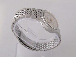 Uhren-Steindl-Oris-Wrist-Alarm-Wecker-Vintage-Handaufzug-Edelstahlarmband-Beschreibung-1989-1990-Sammler-Bild-3