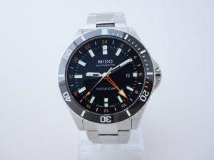 Uhren-Steindl-Mido-Ocean-Star-Captain-V-GMT-Automatik-Powermatic-80-Full-Set-Bild-1