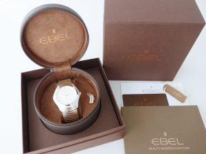Uhren-Steindl-Ebel-Wave-Classic-Gent-Automatik-Stahl-Rosegold-18kt-Full-Set-Bild-6