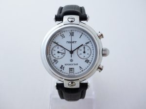 Uhren-Steindl-Poljot-Basilika-Boris-Godunow-3133-Handaufzug-Chronograph-limitiert-Full-Set-Bild-1
