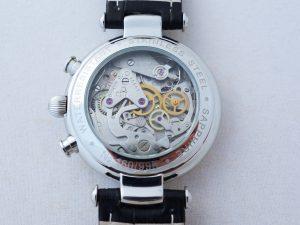Uhren-Steindl-Poljot-Basilika-Boris-Godunow-3133-Handaufzug-Chronograph-limitiert-Full-Set-Bild-4