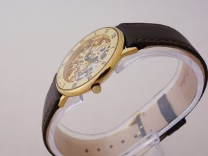 Uhren-Steindl-Fortis-Skelett-Uhr-Vintage-Handaufzug-Peseux-7001-aus-ca-1991-skeletonized-Bild-2