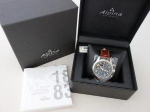 Uhren-Steindl-Alpina-Startimer-Pilot-Chronograph-Automatik-Flieger-neu-Full-Set-Bild-6