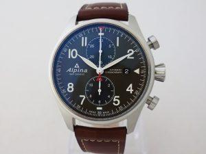 Uhren-Steindl-Alpina-Startimer-Pilot-Chronograph-Automatik-Flieger-neu-Full-Set-Bild-1